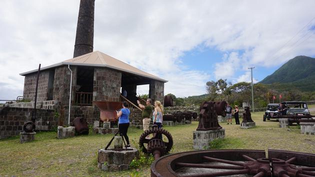 Sugar mill ruins in Nevis