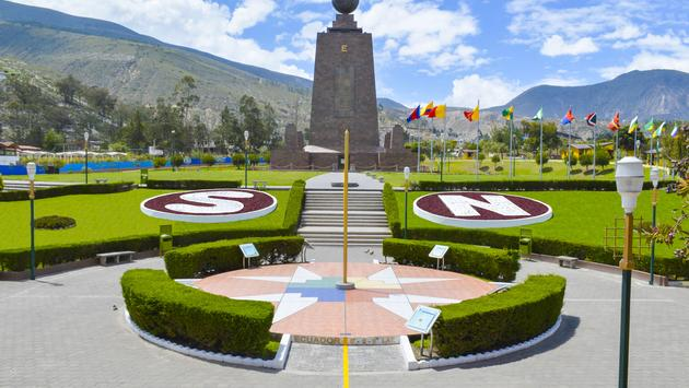 middle of the world, Quito