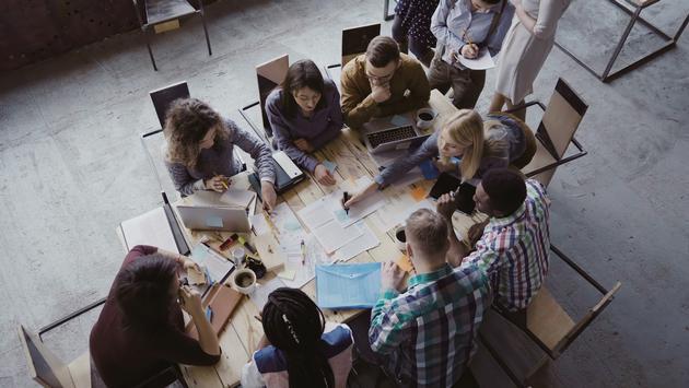 Millennials business planning travel agent