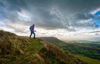 Hiking the Brecon Beacons in South Wales