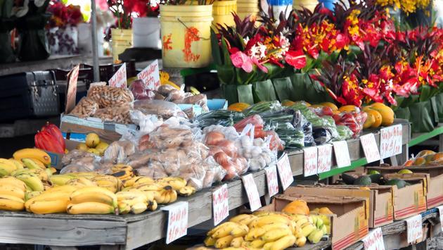farmers market in Hilo