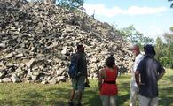 Belize Lubaatan archeaological site
