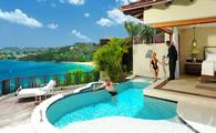 Sunset Oceanview Bluff Millionaire Butler Villa with Private Pool Sanctuary