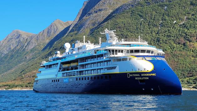 National Geographic Resolution sea trials in Norway