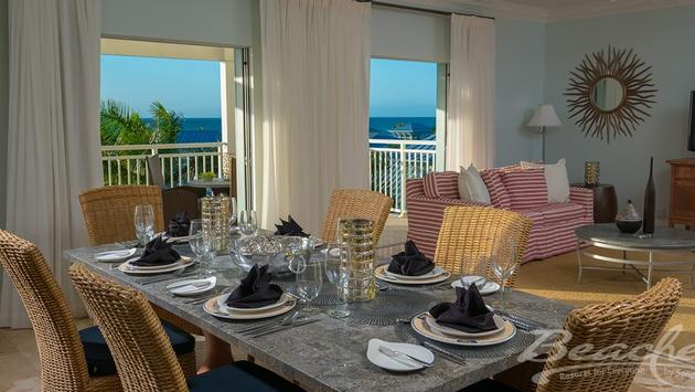 Key West Oceanview Two Story, Two Bedroom Butler Suite
