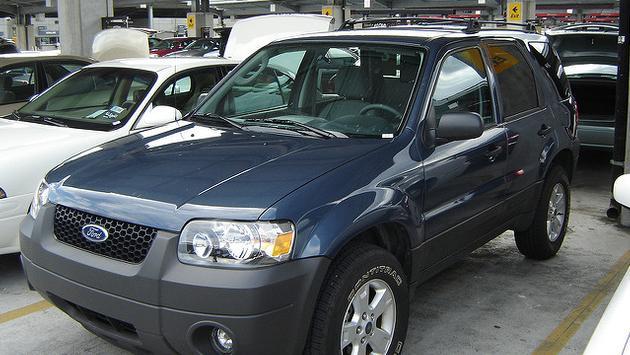 Rental car SUV