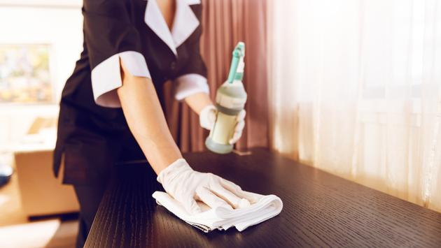 maid cleaning