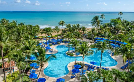 pool area at Wyndham Grand Rio Mar Puerto Rico Golf & Beach Resort