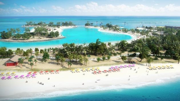 Ocean Kay, l'ile privée de MSC Cruise dans les Bahamas