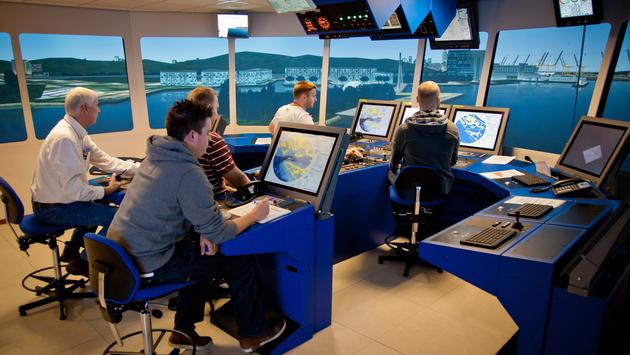 Carnival Corporation's CSMART Bridge Simulator