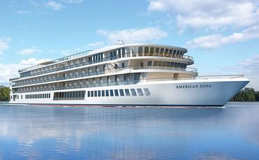 American Cruise Lines' American Song rendering