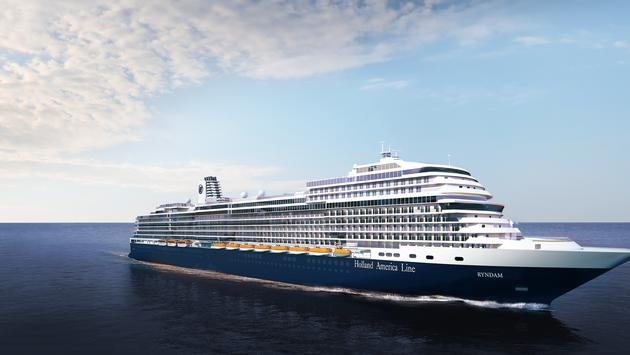Holland America Line's fourth Ryndam