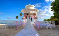 Paradisus Playa del Carmen Wedding Gazebo
