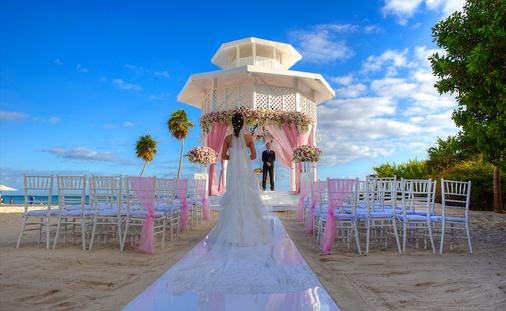 Paradisus Playa del Carmen Wedding Gazebo