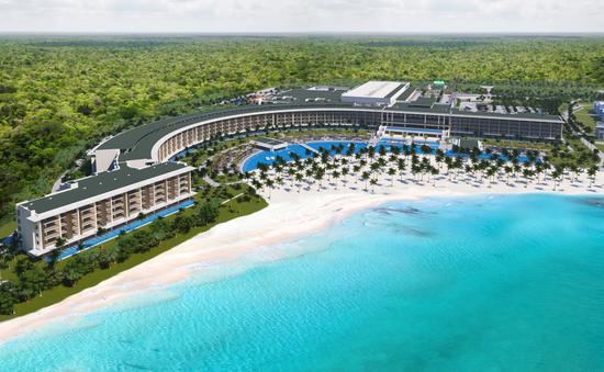 Rendering of Barcelo Maya Riviera resort.