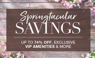 Springtacular Savings from Travel Impressions.