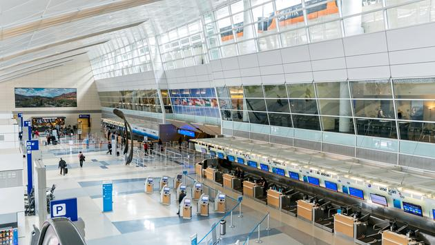 Dallas Fort Worth Airport, Terminal D ticket hall