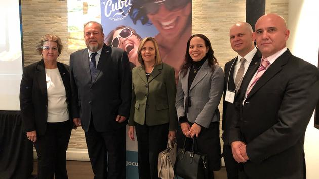 Cuba Tourism Officials in Toronto