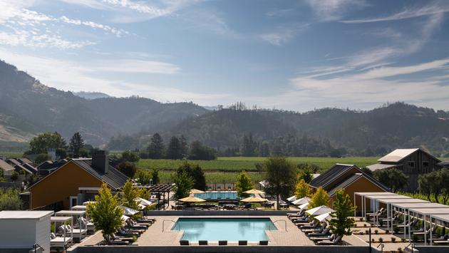 The new Four Seasons Resort and Residences Napa Valley in Calistoga, California.