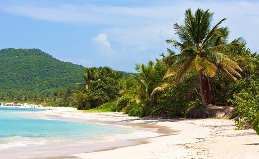 Flamenco Beach on the Puerto Rican island of Culebra