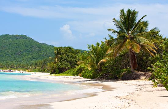 Flamenco Beach on the Puerto Rican island of Culebra