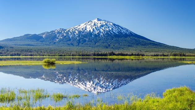 Mount Bachelor near Bend, Oregon