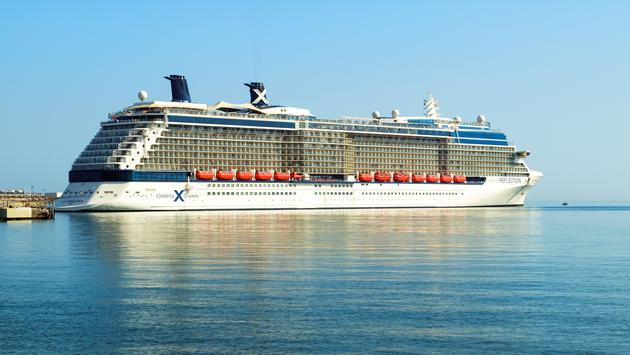 Celebrity Reflection in Malaga, Spain