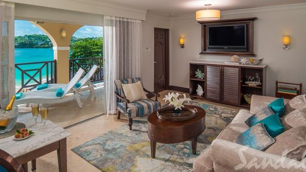 Piton Oceanview Two Story Butler Veranda Suite