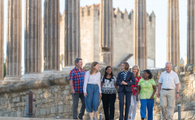 Explore the sights of Evora, Portugal with your knowledgeable Travel Director