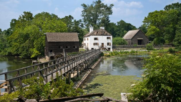 Philipsburg Manor in Sleepy Hollow, New York.