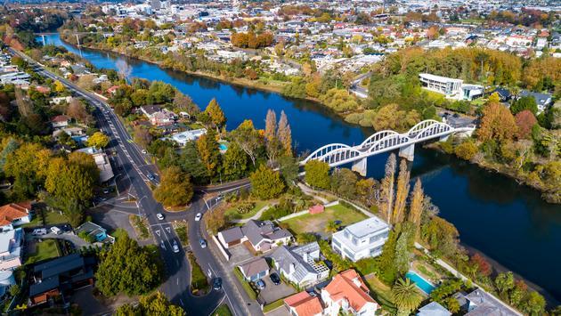 Hamilton, New Zealand, travel