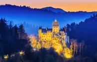 'Dracula's Castle', Bran Castle, Transylvania, Romania.
