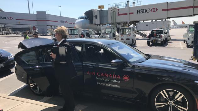 Air Canada Signature Service BMW