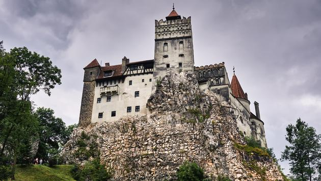 Bran Castle in Transylvania, Romania. Better known as 'Dracula's Castle'.