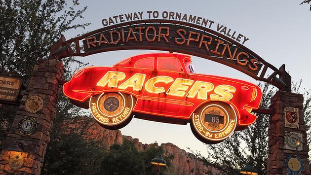 Radiator Springs Racers, Disney California Adventure