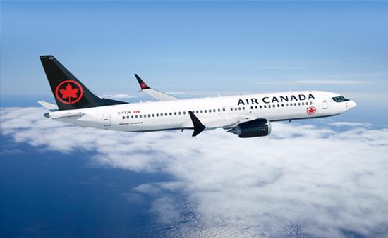 Boeing 737-MAX 8 d'Air Canada