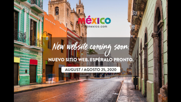 Portada de la plataforma VisitMexico