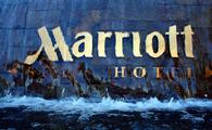 Marriott sign.