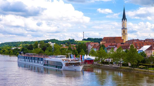 AmaWaterways on rivier (Courtesy of AmaWaterways)