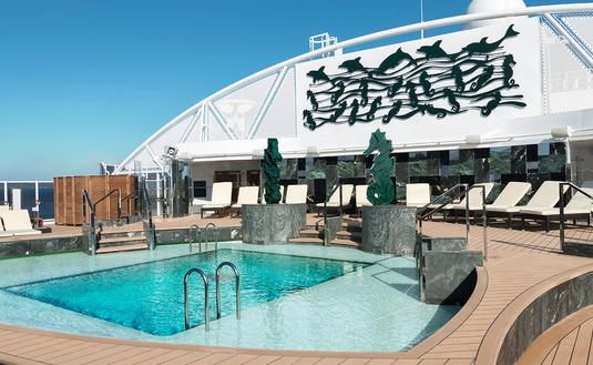 MSC Cruise ship pool (Courtesy of MSC Cruises)