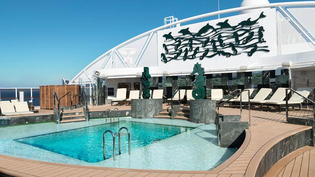 MSC Cruise ship pool (Courtesy of MSC Cruises)