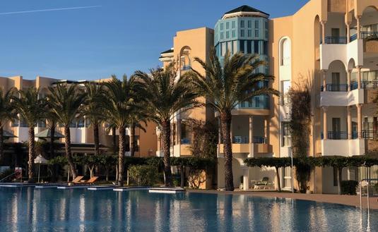 L'hôtel Hasdrubal Thalassa & Spa à Yasmine