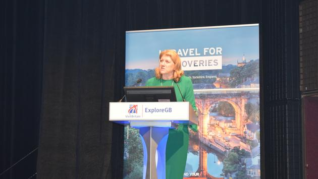 Sally Balcombe, CEO VisitBritain