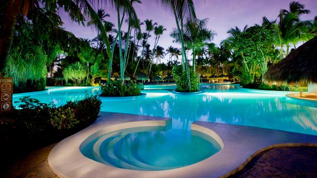 Piscine du Melia Caribe Tropical
