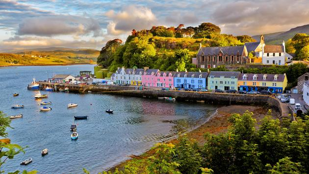 Portree, Isle of Skye, Scotland