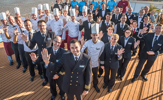 AmaWaterways staff