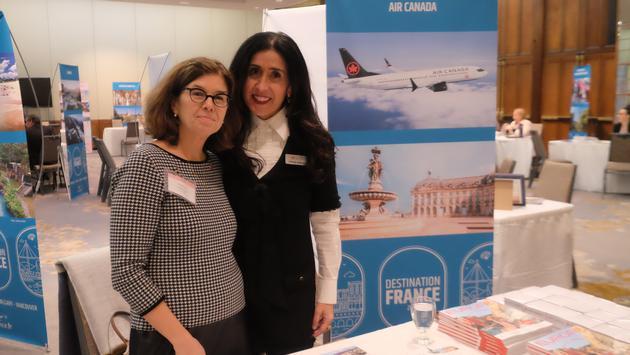 Air Canada, Atout France in Toronto
