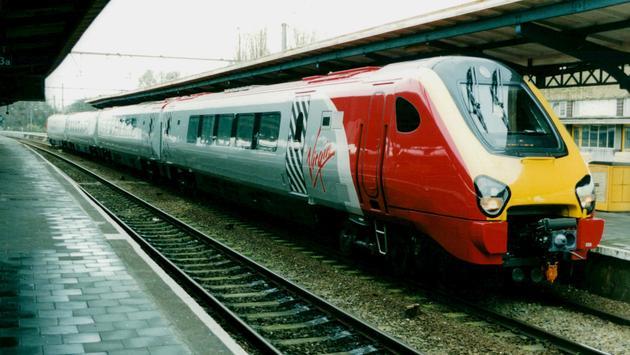 Virgin, Trains, USA