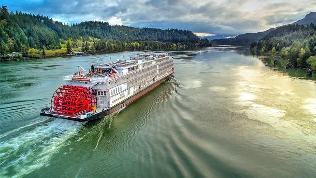 American Empress, the Dalles, Oregon