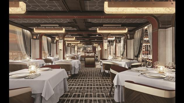 Seven Seas Grandeur's Prime 7 Steakhouse.